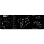 "TekMat Ruger 10/22 Gun Cleaning Mat 12"" Wide x 36"" Long - Black"