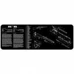 "TekMat M14 - M14/M1A Gun Cleaning Mat 12"" x 36"" Long - Black"