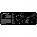 "TekMat Mauser K98 Gun Cleaning Mat 12"" x 36"" Long - Black"