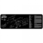 "TekMat Mossberg Shotgun Cleaning Mat 12"" x 36"" Long - Black"