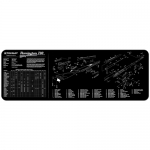 "TekMat Remington 700 Gun Cleaning Mat 12"" x 36"" Long - Black"