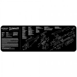 "TekMat Remington 870 Gun Cleaning Mat 12"" x 36"" Long - Black"