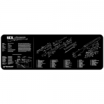 "TekMat SKS Gun Cleaning Mat 12"" Wide x 36"" Long - Black"