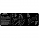 "TekMat Winchester 94 Gun Cleaning Mat 12"" Wide x 36"" Long - Black"