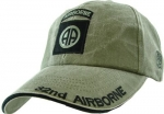 US Army Ballcap - 82nd Airborne - OD