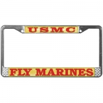 United States Marine Corps Fly Marines - License Plate Frame