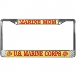 United States Marine Corps Marine Mom License Plate Frame