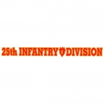 "U.S. Army Decal - 15"" - 25th Infantry - Strip"