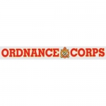 "U.S. Army Decal - 15"" - ""Ordnance Corps"" Strip"