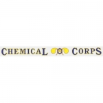 "U.S. Army Decal - 13"" - ""Chemical Corps"" Strip"