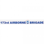"U.S. Army Decal - 19"" - 173rd Airborne - Strip"