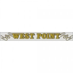"U.S. Army Decal - 15"" - West Point - Strip"