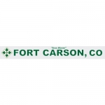 "U.S. Army Decal - 14"" - ""Fort Carson; CO"" Strip"