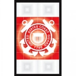 U.S. Coast Guard - Tail Light - Seal - 2 Decals