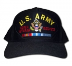 Veteran ID Ballcap - Army - Korea Veteran w/ Bars