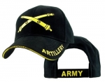 US Army Ballcap - Artillery/Army Embroidered