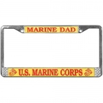 United States Marine Corps Dad License Plate Frame