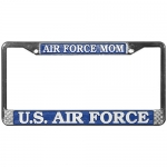 United States Air Force Mom License Plate Frame