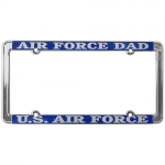 United States Air Force Dad License Plate
