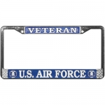 United States Air Force Veteran License Plate Frame
