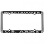 United States Army Paratrooper License Plate Frame