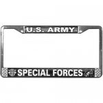 United States Army Special Forces License Plate Frame.