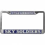 "United States Army 173rd Airborne ""Sky Soldiers"" License Plate Frame"