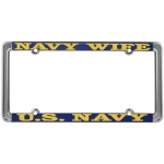 United States Navy Wife License Plate Frame