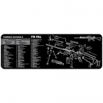 "TekMat FN FAL Gun Cleaning Mat 12"" x 36"" Long - Black"