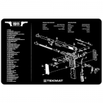 "TekMat 1911 Gun Cleaning Mat 11"" x 17"" Long - Black"