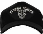 US Army ID Ballcap - Special Forces with Insignia