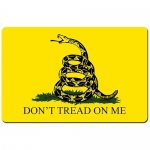 "TekMat Gadsden Flag Gun Cleaning Mat 11"" x 17"" - Yellow & Black"