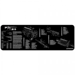 "TekMat AR15 Gun Cleaning Mat 12"" x 36"" Long - Black"