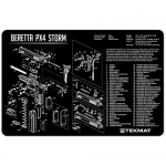 "TekMat Beretta PX4 Storm Gun Cleaning Mat 11"" x 17"" Long - Black"