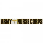 "U.S. Army Decal - 14"" - ""Army Nurse Corps"" Strip"