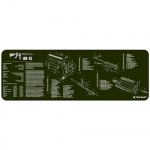 "TekMat AR15 Gun Cleaning Mat 12"" x 36"" Long - OD"