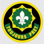 "U.S. Army Decal - 3.25"" - ""Toujours Pret"""