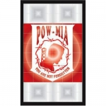POW/MIA Decal - Tail Light - POW/MIA - 2 Decals