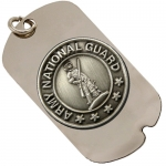 Army National Guard Dog Tag