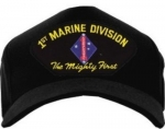 "USMC ID Ballcap - 1st Marine Division ""The Mighty First"""