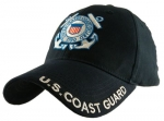 "USCG Ballcap - USCG Logo - ""U.S. Coast Guard"" on Brim"