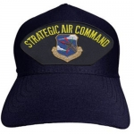 USAF ID Ballcap w/ Strategic Air Command - Dark Navy Blue