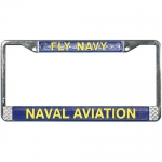 United States Navy Fly Navy License Plate Frame