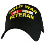 Veteran Ballcap - Cold War - Black