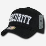 Air Mesh Public Safety Caps - Security - Black