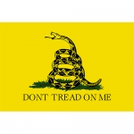 Don't Tread on Me Embroidered double-sided Flag - 3' x 5'