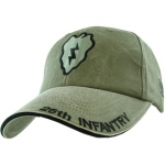 US Army Ballcap 25th Infantry - Olive Drab OD