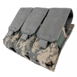 MOLLE - Triple Pistol Mag Pouch