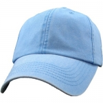 Ballcap - Blank - Sky Blue Distressed