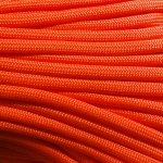 Paracord 550 Neon Orange 100'